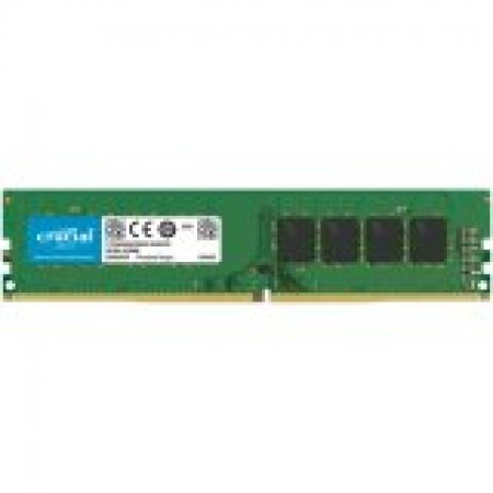 CRUCIAL 16GB DDR4-2666 UDIMM CL19 (8Gbit/16Gbit)