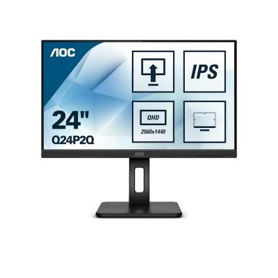 """AOC IPS 23,8"""" Q24P2Q, HDMI, DVI, DP, USB3.0, pivot"""