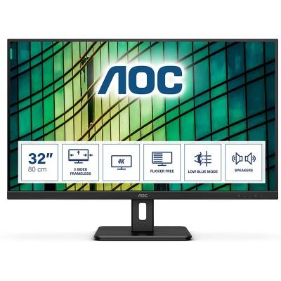"AOC LED 31,5"" U32E2N, UHD, 2xHDMI, DP, zvučnici"