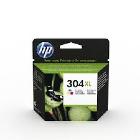 N9K07AE HP tinta, No.304XL, trobojna