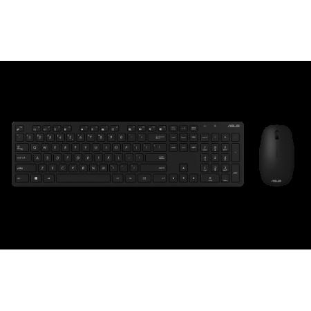 ASUS W5000, bežična tipkovnica i miš, crni