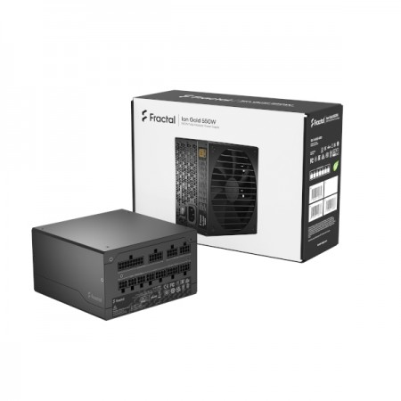 Fractal Ion Gold 550W, 80+ Gold, modularno