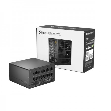 Fractal Ion Gold 650W, 80+ Gold, modularno