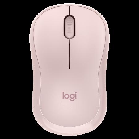 Logitech M220 Silent bežični optički miš, roza