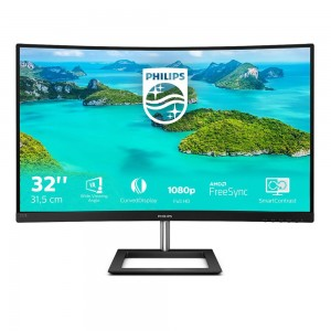 Philips 325E1C, QHD, VGA, HDMI, DP