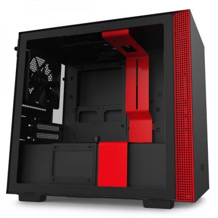 NZXT H210 crno/crveno bez napajanja, ITX