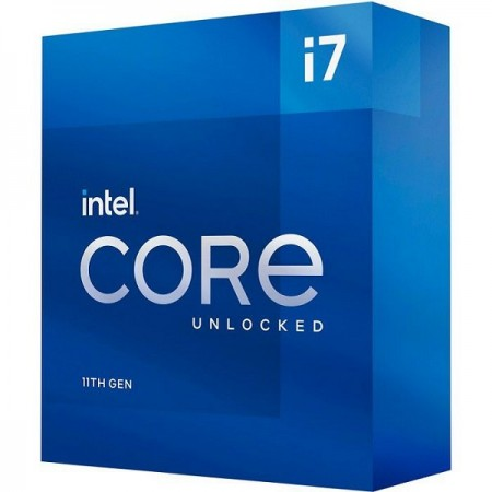 Intel Core i7 11700k, 3,6/5.0GHz,8C/16T,LGA1200