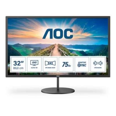 """AOC LED IPS 31,5"""" Q32V4, HDMI, DP, zvu. 75Hz"""