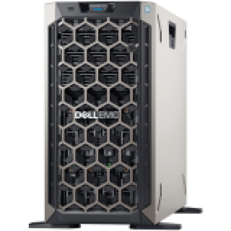 DELL EMC PowerEdge T340 w/8x3.5in, Intel Xeon E-2234 (3.6GH...