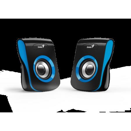 Genius zvučnici SP-Q180, 6W, USB + 3,5mm, plavi