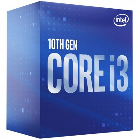 Intel Core i3 10100F 3.6/4.3GHz,4C/8T,LGA 1200, nG