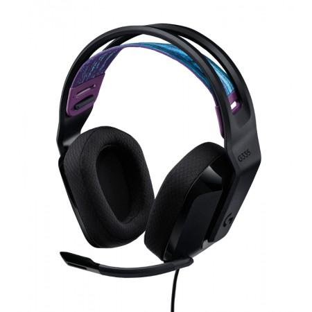 Logitech G335 gaming slušalice s mikrofonom, crna