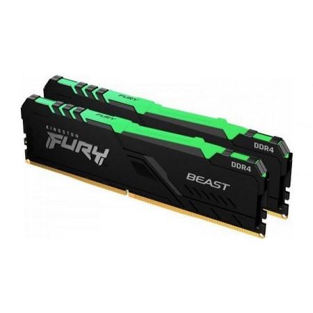 Kingston DDR4 FURY Beast RGB, 3200MHz, 2x8,16GB