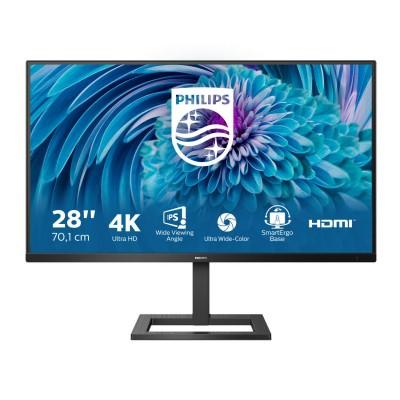 "Philips 28"" 288E2UAE, 4K, HDMI, DP, zvu., HAS, USB"