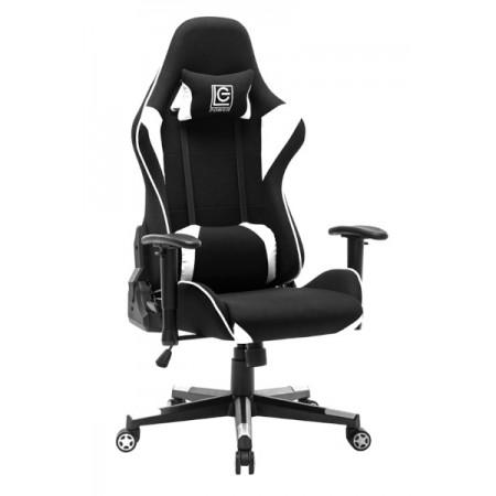 LC-Power LC-GC-703BW, crno/bijela, gaming stolica