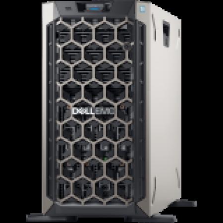 DELL EMC PowerEdge T340 w/8x3.5in, Intel Xeon E-2224(3.4GHz...